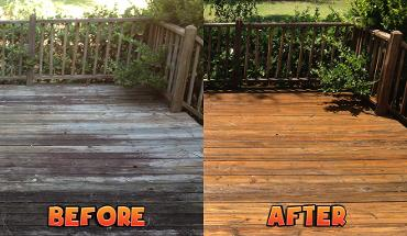 wood decking cleaners Sunderland