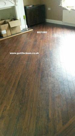 how to clean karndean flooring