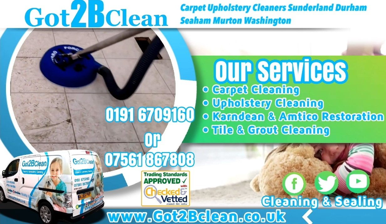 Got2Bclean Carpet Upholstery Cleaners & Floor Restoration Services Sunderland